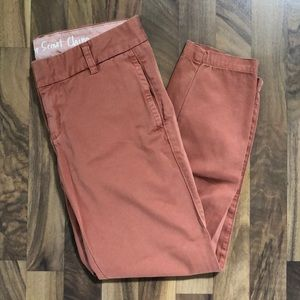 JCrew Broken-In Scout Chino pants